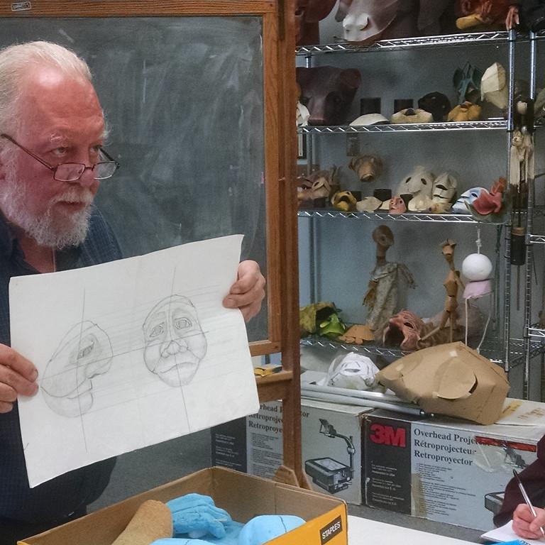 Webinar: Building Puppeteers. Past, Present and Future of UConn Pappet Arts Program - BART ROCCOBERTON