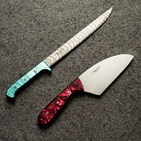 Santoku and 9 inch fillet knife for Tony