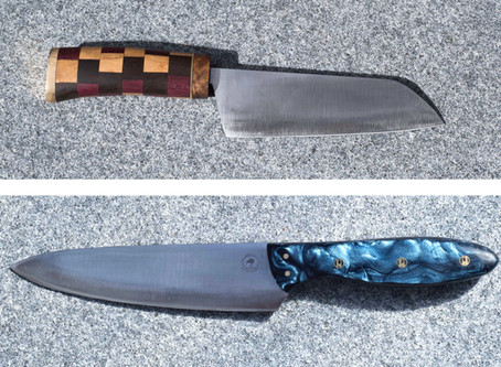 What is the Difference Between a French Chef's Knife and a Santoku?
