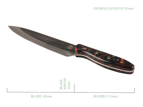Volcanic Storm French Chefs Knife