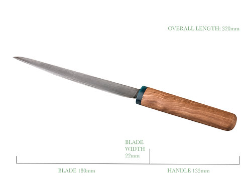 Filleting Knife -7inch blade (180cm)