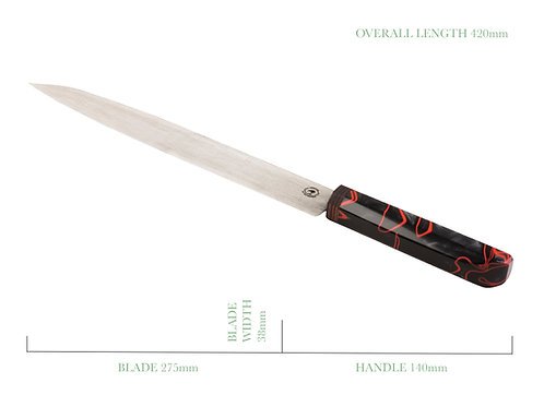 The Vulcan Long Bladed Gyuto