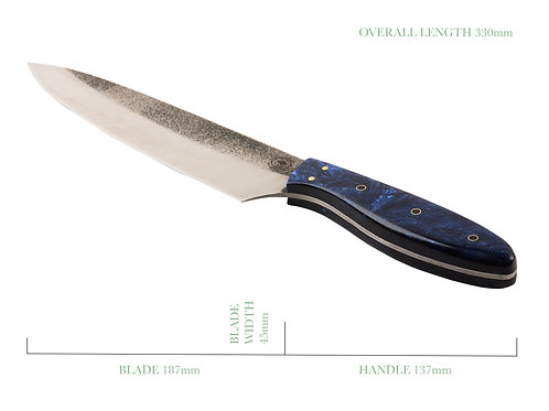 Blue Pearl French Chefs Knife