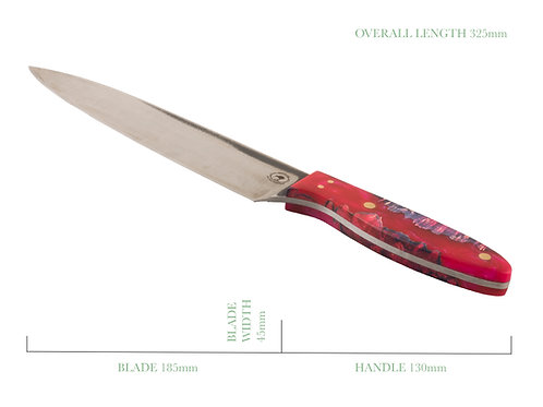 Lilly the Pink French Chefs Knife