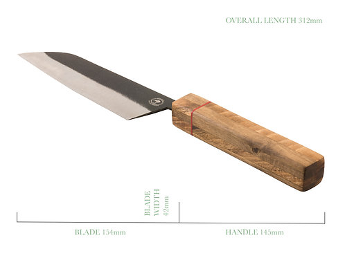The Dapper Gent Traditional Santoku