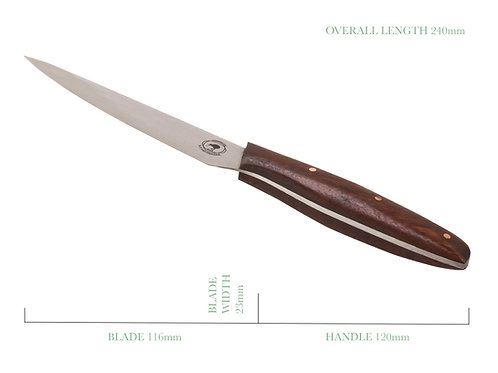 The Umbrian Petal Kitchen Paring and Utility Knife