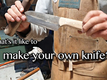 Knife Making Workshops with Friends [video]