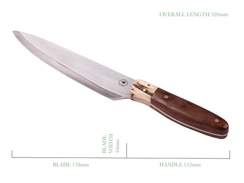 The Brunette French Chef's Knife