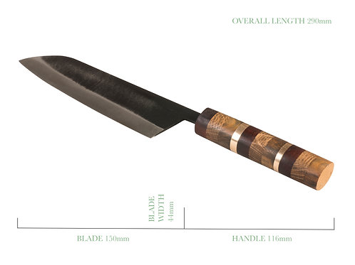 The Roly Poly Staircase Traditional Santoku