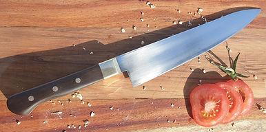 Gyuto Kitchen Knife with Mosaic Pins.jpg