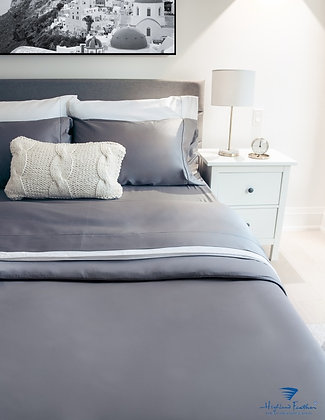 Versaille Linens Bedding - Grey