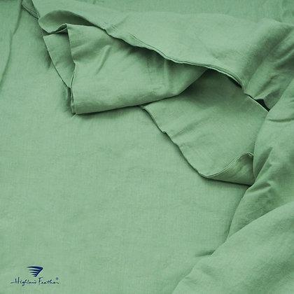French Linen Bedding - Grass Green