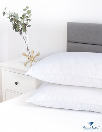 Tortosa White Goose Down Pillow 233TC 600 Loft