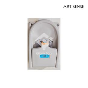High density polyethylene wall mounted folding baby seat