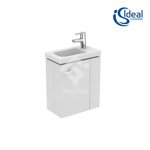 Concept Space 45cm Guest Washbasin With Wall Hung Unit