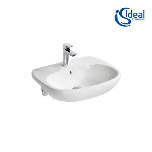 Tesi 55cm Semi-Countertop Washbasin