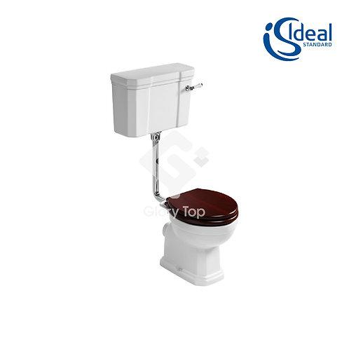 Low Level Dual Flush Lever Action Cistern - 6/4 litre