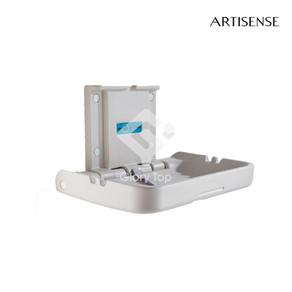 High density polyethylene wall mounted Horizontal folding baby changing unit