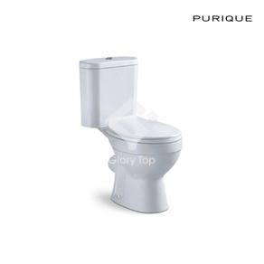Vitreous china close coupled WC