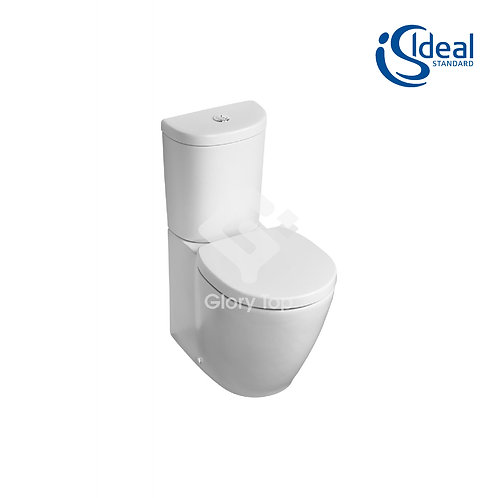Concept Space Compact Close Coupled/Back To Wall WC Suite - Arc