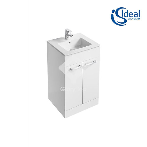 Tempo 600 / 500mm Floor Standing Vanity Basin Unit