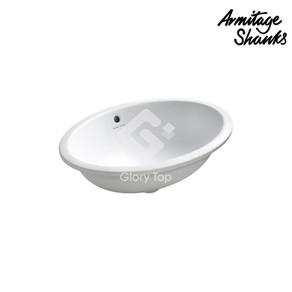 ''Marlow 56' vitreous china under-countertop washbasin