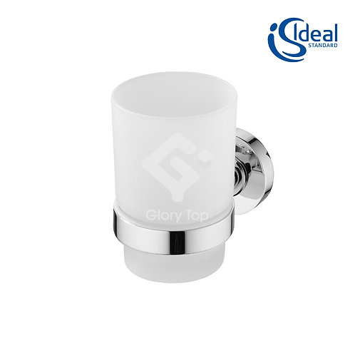 IOM Tumbler Holder Frosted Glass
