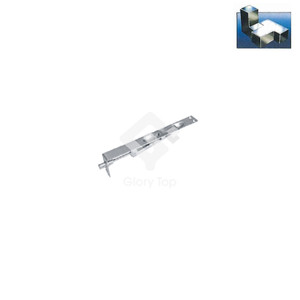 Lever action manual flush bolt for wooden door use 150mm long