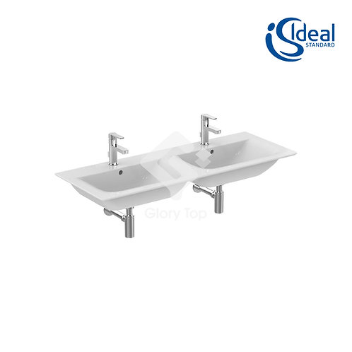 Concept Air 124cm Double Vanity Washbasin