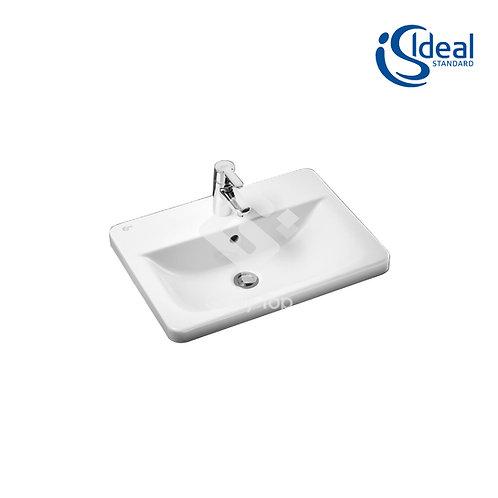 Concept Cube 50/58cm Countertop Washbasin