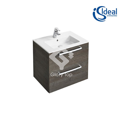 Tempo 800 / 600 / 500mm Wall-Mounted Vanity Basin Unit