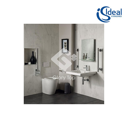 Concept Freedom Ensuite Bathroom Pack with 60cm Basin & Raised Height Standard P