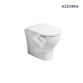 'Pratica' vitreous china back-to-wall wc with water saving 2/3L dual flush design