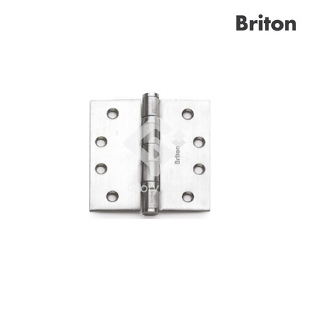 Hinge with 2 ball bearings, tested to EN1935 grade 14, classification code 4-7-7-0-1-4-0-14, door max 160kg, CE marked, tested to BSEN1634-1 for GMS door for 120min, passed 240 hours neutral salt spray test, Grade 304 s/s/s finish, c/w machine screws.