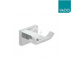 'Lever' chrome plated surface mounted robe hook