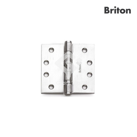 Hinge with 2 ball bearings with security bolt, tested to EN1935 grade 14, classification code 4-7-7-0-1-4-0-14, for door with max 160kg, CE marked,passed 240 hours neutral salt spray test, Grade 304 s/s/s finish, c/w wooden door screws.