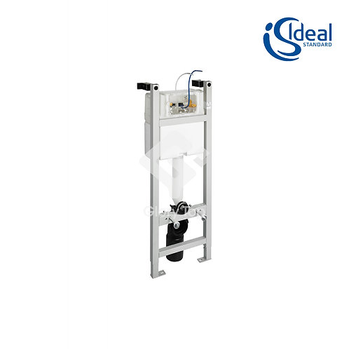 In-wall System for WC 1100mm, Pneumatic Front Flushplate