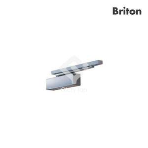 Cam action overhead door closer size 2-5, EN1154 4-8-2/5-1-1-3, sliding track arm and drop plate for push side installation, BFA2008. CE marked, Certifire CF738