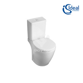 'Concept Space' vitreous china close coupled WC