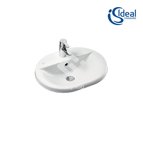 Concept Oval 48/55/62cm Countertop Washbasin