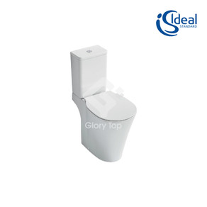 'Concept Air' vitreous china close coupled WC with Aquablade technology