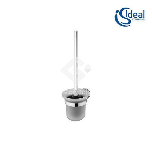 IOM Toilet Brush Set Wall Mounted Glass