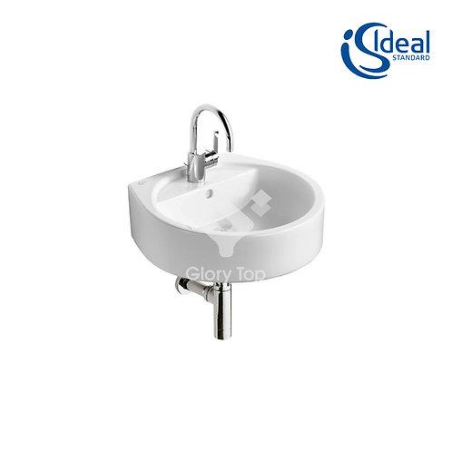 White Round 50cm Washbasin
