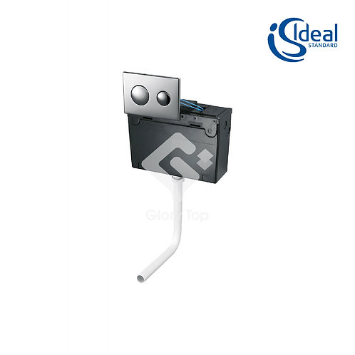 Conceala 2 High Level Lever Chain Pull Cistern
