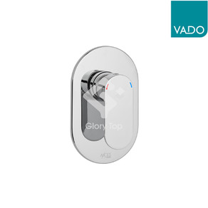 'Metiz' chrome plated concealed type single lever shower mixer.
