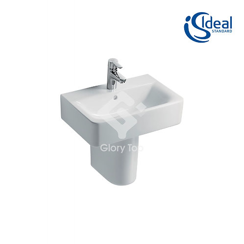 Concept Cube 55cm Washbasin - Short Projection