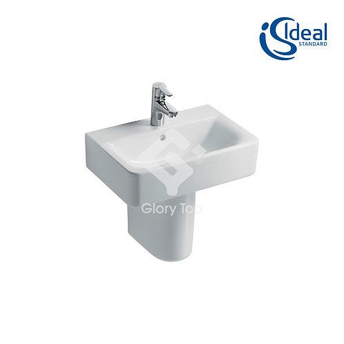 Concept Cube 55cm Washbasin - Short Projection