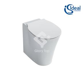 'Concept Air' vitreous china back-to-wall wash down WC ( 'Aquablade' flushing rim)
