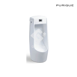 Vitreous china floor stand urinal (back inlet, without sensor)