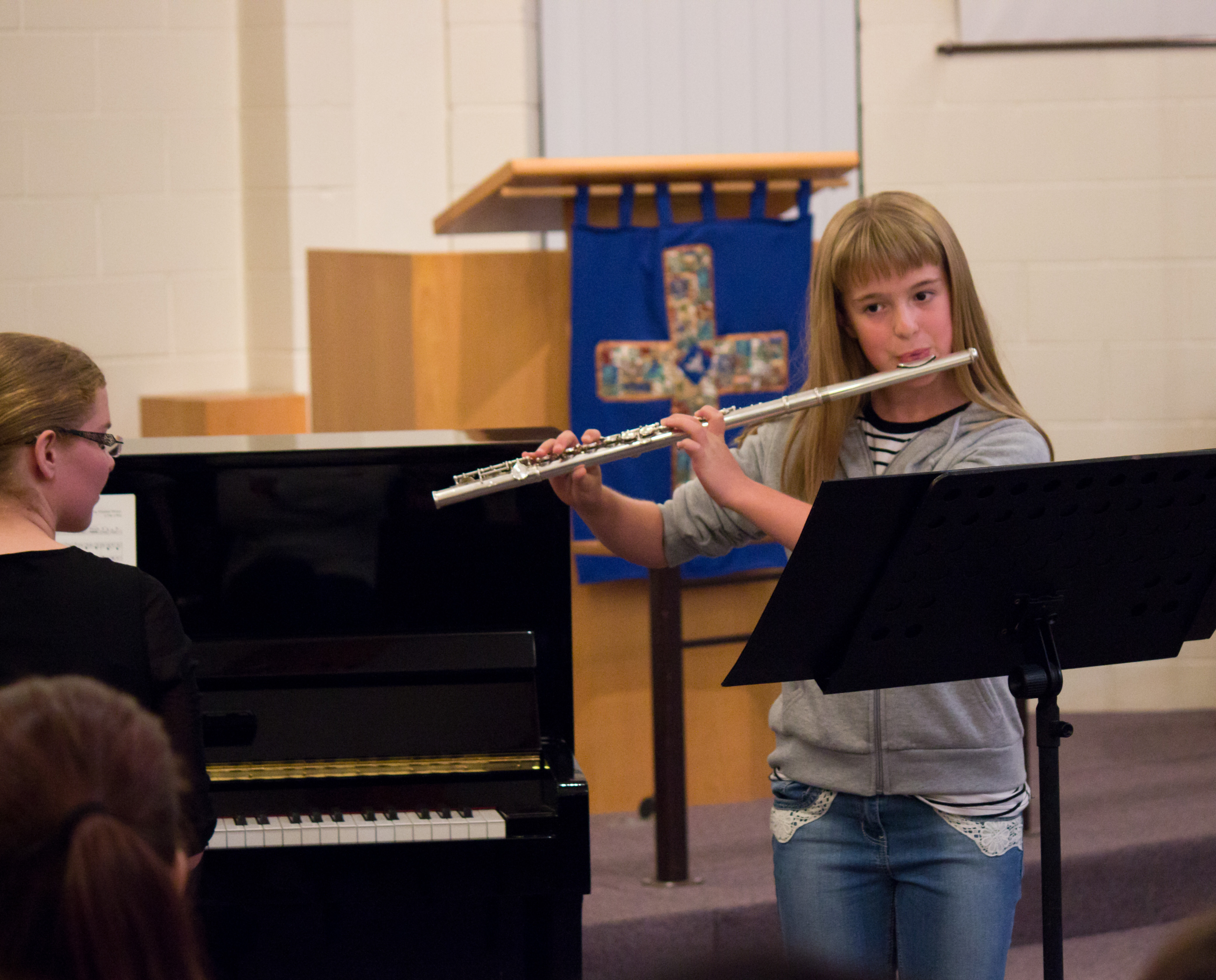 Flute performance